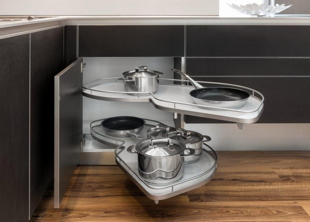 Kitchen storage design Mallorca