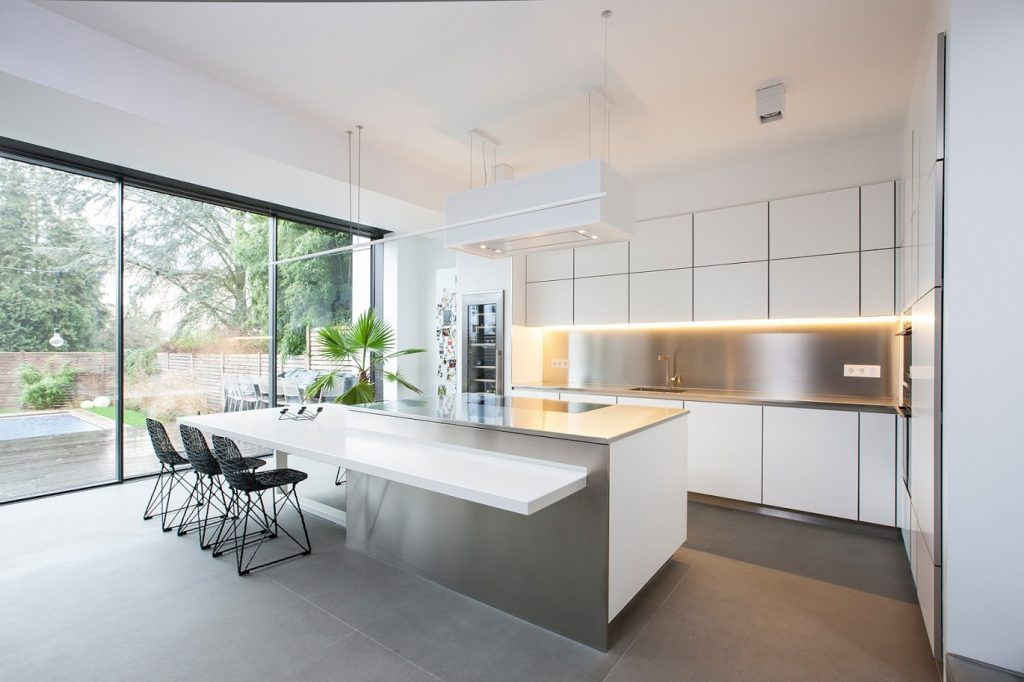 Modern kitchen design Mallorca