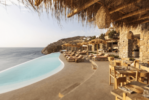 Holz und Bambus Terrassen Möbel Mallorca