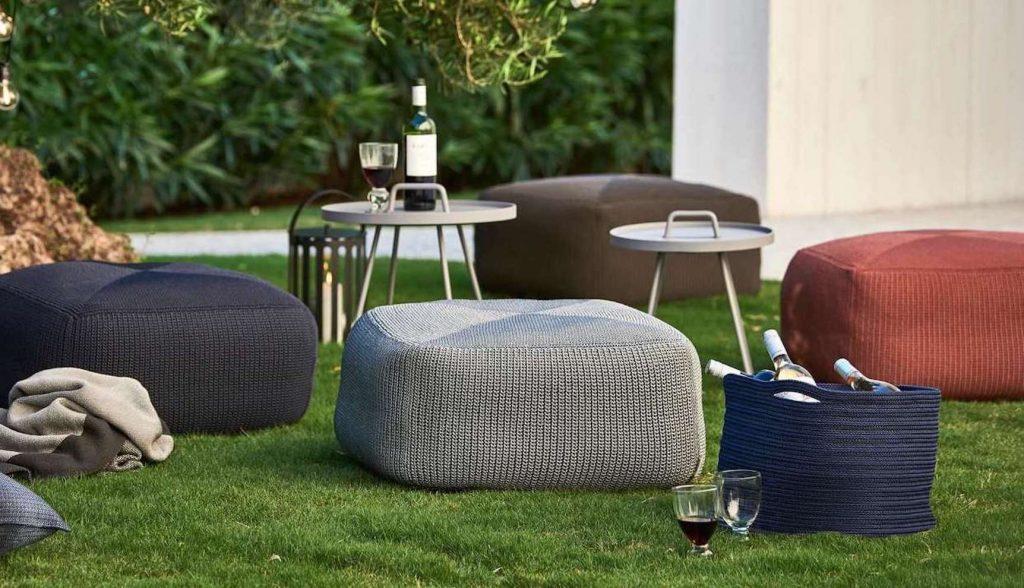 Outdoor Design mit Cane-line Möbeln