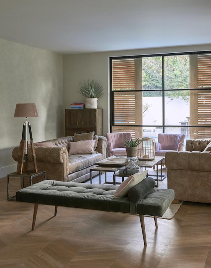 Natural design for living room