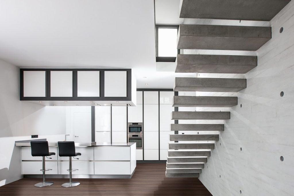 Diseño de cocina minimalista en Mallorca