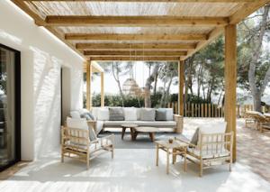 Decoración en bambú para exteriores Mallorca