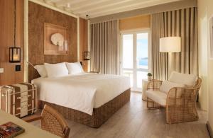 Beach Hotel Design für das Schlafzimmer