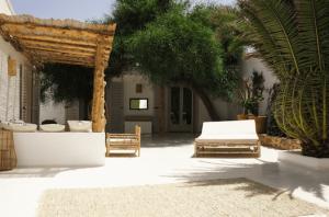 Sonnenliegen aus Bambus Mallorca