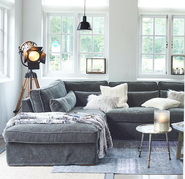 Kuschellige Sofas von RIviera Maison
