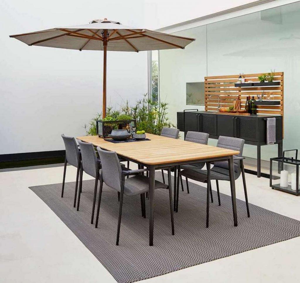 Luxuriöse Outdoor Möbel