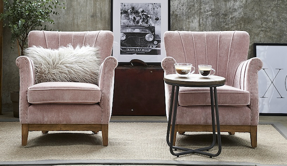Pale pink touch for cozy rooms - Mallorca