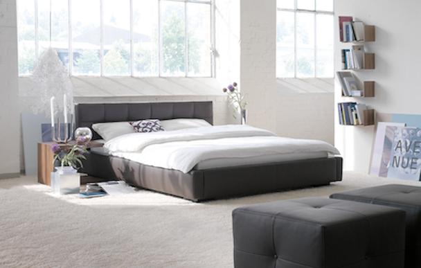 Schlafzimmer Ideen in Schwarz Weiss