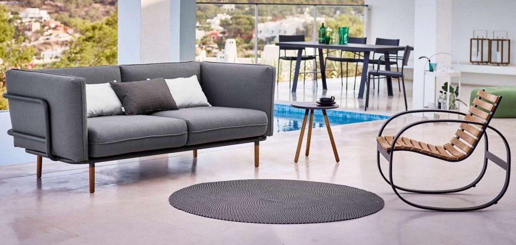 Stylische Outdoor Möbel