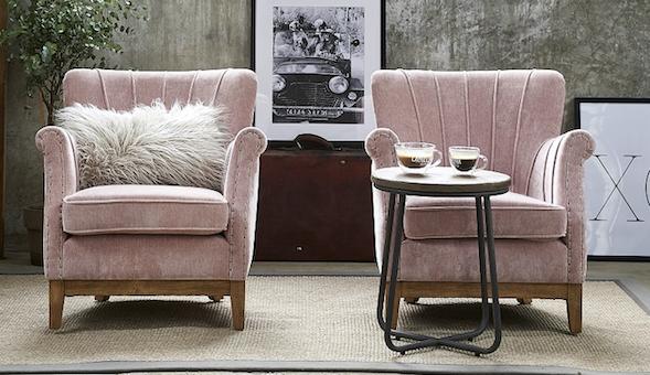 Pink Samt Exclusive Möbel Riviera Maison Auf Mallorca