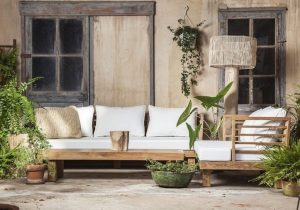 Teakwood outdoor Mallorca
