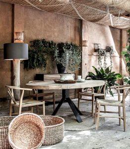 Terrassen Design und Dekoration