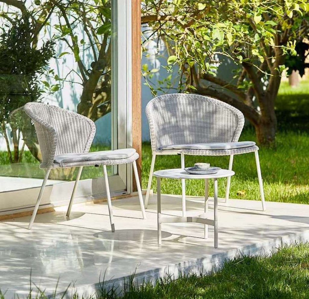 White outdoor design Mallorca