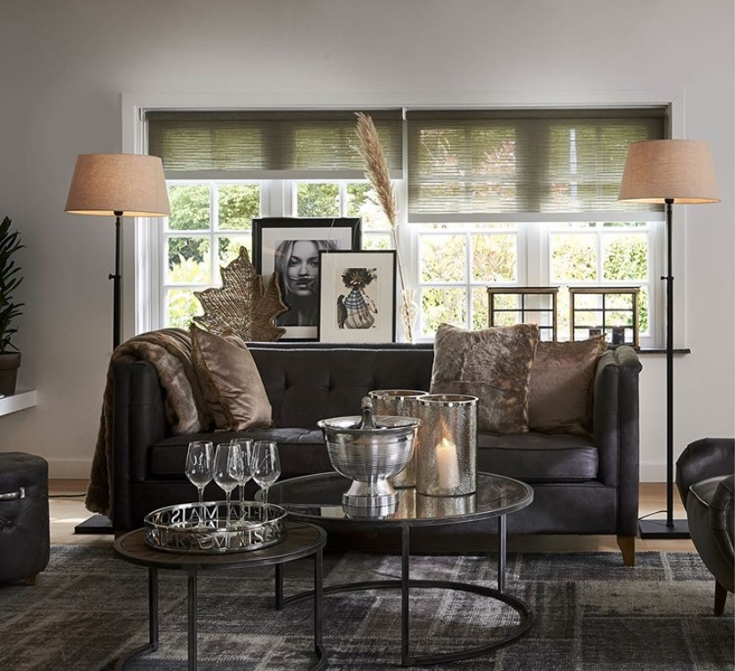 Living room decoration - Rivièra Maison